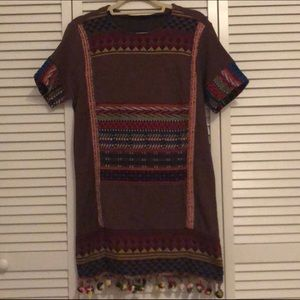 Zara Pom Pom Dress